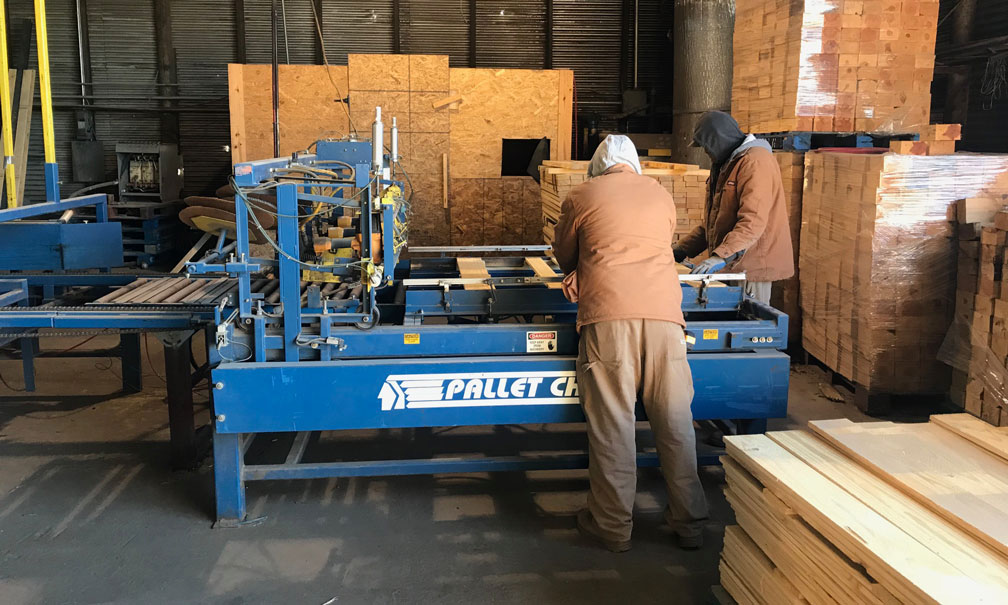 New Pallet Manufacturing | Pallet Manufacturer in Oklahoma